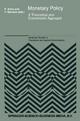 Monetary Policy - Yves Barroux; P. Artus