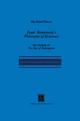 Franz Rosenzweig's Philosophy of Existence - P.R. Mendes-Flohr; E.R. Freund