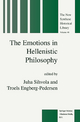 The Emotions in Hellenistic Philosophy - J. Sihvola; T. Engberg-Pedersen