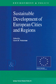 Sustainable Development of European Cities and Regions - Gerrit H. Vonkeman