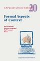 Formal Aspects of Context - Pierre Bonzon; Marcos Cavalcanti; Rolf Nossum