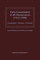 Party Government in 48 Democracies (1945-1998) - Jaap Woldendorp; Hans Keman; Ian Budge