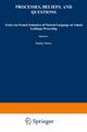 Processes, Beliefs, and Questions - S. Peters; Esa Saarinen