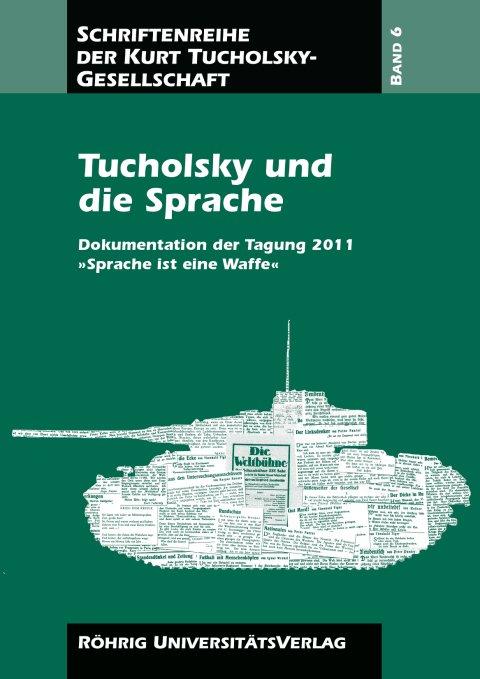 Cover Tucholsky und Sprache