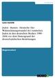 Juden - Russen - Deutsche: Der Wahrnehmungswandel der russischen Juden in den deutschen Medien 1989 - 2006 vor dem Hintergrund der deutsch-jüdischen Beziehungen - Lena Gorelik