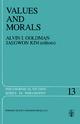 Values and Morals - A. Goldman; Jaegwon Kim