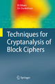 Techniques for Cryptanalysis of Block Ciphers