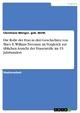 Die Rolle der Frau in drei Geschichten von Mary E. Wilkins Freeman  im Vergleich zur üblichen Ansicht der Frauenrolle  im 19. Jahrhundert - geb. Wirth Menger  Christiane