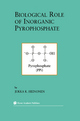 Biological Role of Inorganic Pyrophosphate