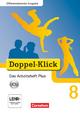 Doppel-Klick - Differenzierende Ausgabe / 8. Schuljahr - Das Arbeitsheft Plus mit CD-ROM - Grit Adam; Kathleen Breitkopf; Ulrich Deters; Dirk Hergesell; Rainer Schremb; Britta Wurst-Falck
