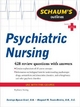 Schaum''s Outline of Psychiatric Nursing