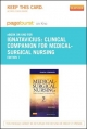 Clinical Companion for Medical-Surgical Nursing - Pageburst E-Book on Kno (Retail Access Card)