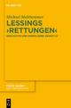 Lessings 'Rettungen' - Michael Multhammer