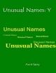 Unusual Names: Y - Aunt Sassy