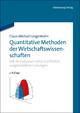 Quantitative Methoden der Wirtschaftswissenschaften - Claus-Michael Langenbahn