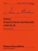 Sonate op. 38 e-Moll op. 38 für Violoncello und Klavier - Hans-Christian Müller; Johannes Brahms