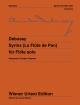 Syrinx 'La Flute de Pan', für Flöte - Anders Ljungar-Chapelon; Michael Stegemann; Claude Debussy