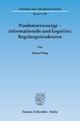 Pandemievorsorge – informationelle und kognitive Regelungsstrukturen - Manuel Pflug