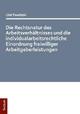 Die Rechtsnatur des Arbeitsverhältnisses und die individualarbeitsrechtliche Einordnung freiwilliger Arbeitgeberleistungen - Olaf Pawlitzki