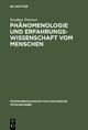 Phänomenologie und Erfahrungswissenschaft vom Menschen - Stephan Strasser