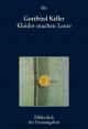 Kleider machen Leute - Gottfried Keller;  Joseph Kiermeier-Debre