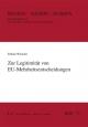 Zur Legitimität von EU-Mehrheitsentscheidungen - Fabian Wiencke