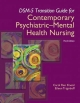 DSM-5 Transition Guide for Contemporary Psychiatric-mental Health Nursing