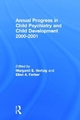 Annual Progress in Child Psychiatry and Child Development 2000-2001