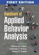 Handbook of Applied Behavior Analysis