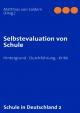 Selbstevaluation von Schule - Matthias von Saldern