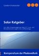 Solar Ratgeber - Gordon Kronzucker