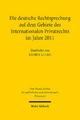 Die deutsche Rechtsprechung auf dem Gebiete des Internationalen Privatrechts im Jahre 2011 - Rainer Kulms;  Max-Planck-Institut f. Privatrecht