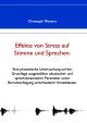 Effekte von Stress auf Stimme und Sprechen - Christoph Meinerz