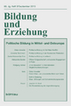Bildung und Erziehung 66,3 (2013) Politische Bildung in Ost- und Ostmitteleuropa