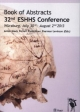 32nd ESHHS Conference: Book of Abstracts / Würzburg, July 30nd - August 2nd 2013