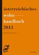 Österreichisches Wohnhandbuch 2013 - Klaus Lugger; Wolfgang Amann