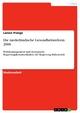 Die niederländische Gesundheitsreform 2006: Politikmanagement und strategische Regierungskommunikation der Regierung Balkenende Larsen Prange Author