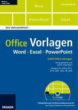 office vorlagen word excel powerpoint das isbn. Black Bedroom Furniture Sets. Home Design Ideas