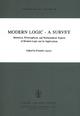 Modern Logic - A Survey - E. Agazzi