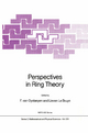 Perspectives in Ring Theory - Freddy Van Oystaeyen; Lieven le Bruyn