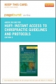 Instant Access to Chiropractic Guidelines and Protocols - Pageburst E-Book on Kno (Retail Access Card)