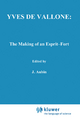 Yves de Vallone: The Making of an Esprit-Fort - James O'Higgins