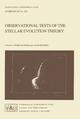 Observational Tests of the Stellar Evolution Theory - A. Maeder; Alvio Renzini