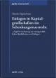 Einlagen in Kapitalgesellschaften im Schenkungsteuerrecht - Monika Nagelschmitz