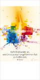 Jahreslosung 2015 - Faltkarte mit Betrachtung (10er-Set)*