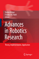 Advances in Robotics Research - Torsten Kröger;  Friedrich M. Wahl