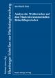Analyse der Wettbewerber auf dem Markt des kommerziellen Bedarfsflugverkehrs - Jan-Henrik Kern