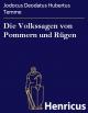 Die Volkssagen von Pommern und Rügen - Jodocus Deodatus Hubertus Temme