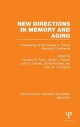 New Directions in Memory and Aging