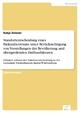 Standortentscheidung eines Einkaufzentrums unter Berücksichtigung von Vorstellungen der Bevölkerung und übergreifenden Einflussfaktoren - Katja Zeisner